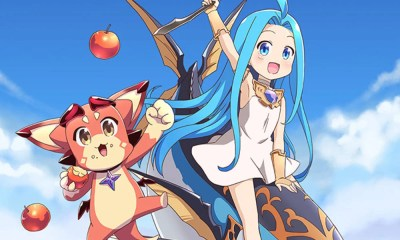 Guraburu!, spin-off de Granblue Fantasy, estreia em outubro