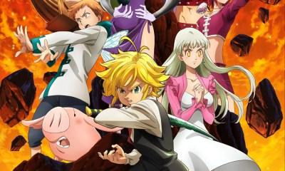 The Seven Deadly Sins | 4ª temporada muda de nome e ganha novo poster