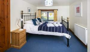 Bedroom in the Granary at Tredethick