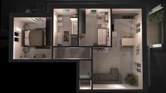 3D Renders - TREDI Interiors - E.AVAGNINA designer 6