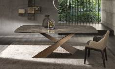 Modern Italian Design dining table LIVING by Riflessi