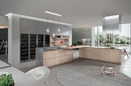 European kitchen cabinets by Tredi Interiors