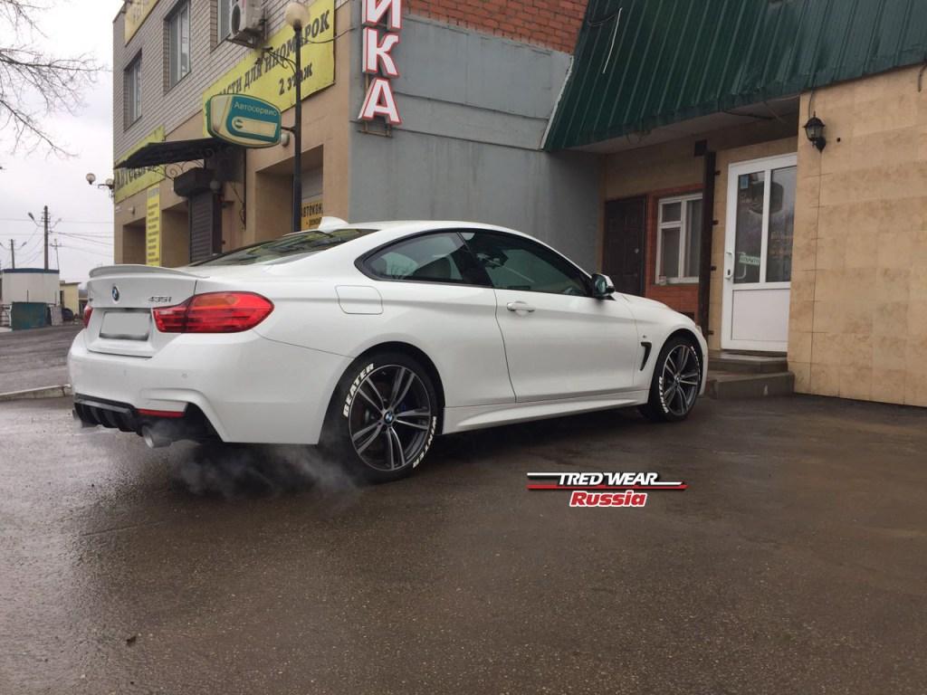 Белые буквы на шины