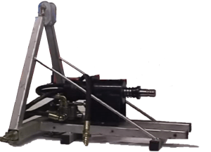 Hydraulic engine with tractor mount