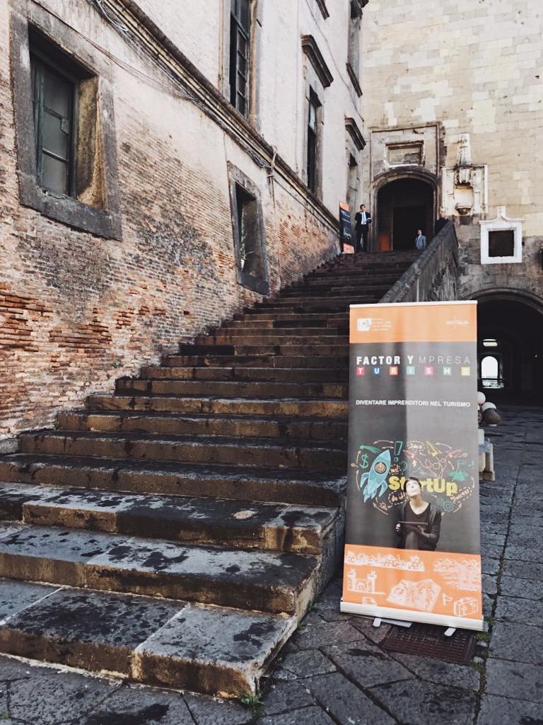 Accelerathon Factorympresa a Napoli: il futuro del turismo in Italia