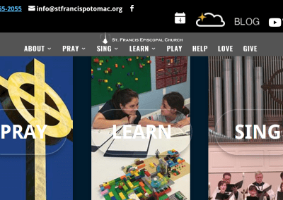St Francis Potomac Website