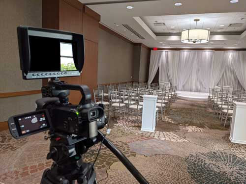 Live Broadcast Wedding Ceremony – Collaboration with Angie D Music & Entertainment