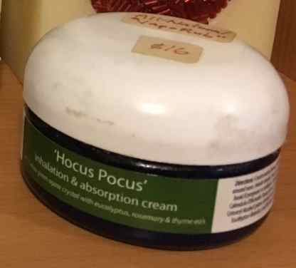 inhalation and absorption cream