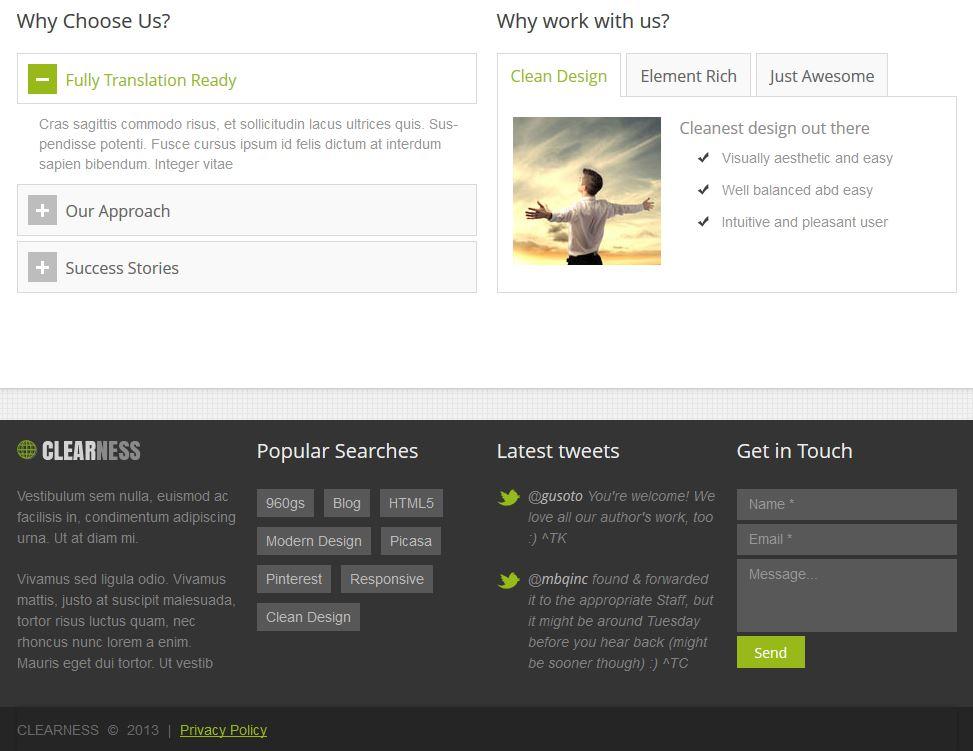 Clean Multipurpose Business WordPress Website