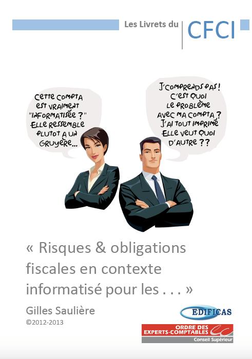 Risques & obligations fiscales en contexte informatisé