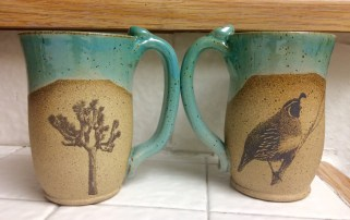Mugs by MazAmar Pottery