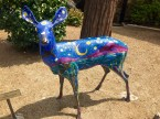 Painted Deer by Kathy Harmon Luber