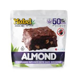 Mabel & Co – Almond Brownie Mini 50mg