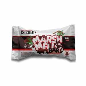 Marshmello Bars – Chocolate 100mg