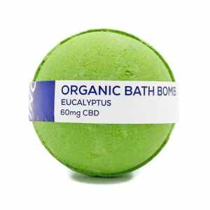 CBD LIVING TOPICAL EUCALYPTUS 60MG CBD INFUSED BATH BOMB