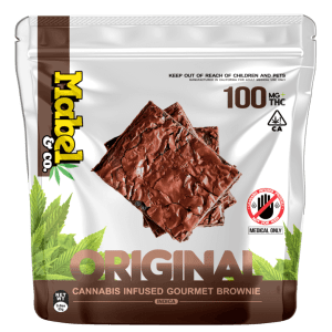 MABEL & CO 100MG – ORIGINAL BROWNIE