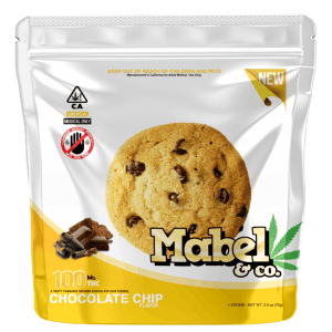 MABEL & CO 100MG – CHOCOLATE CHIP COOKIE