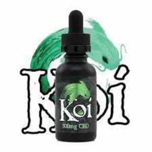 KOI CBD- GOLD WATERMELON GREEN APPLE SOUR 100MG 30ML VAPE JUICE