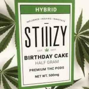 STIIIZY Birthday Cake Premium Half Gram THC POD