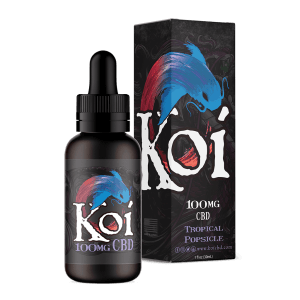 Koi CBD- GOLD 1000mg Vape Juice 30ml (Tropical Popsicle)