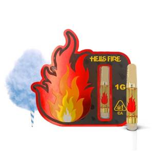Hells Fire Extracts Blueberry Kush Cartridge