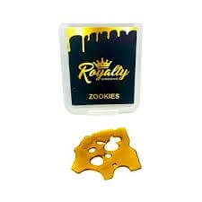ROYALTY GREENZ ONE GRAM ZOOKIES SHATTER