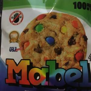MARBEL M&M 100MG CANNABIS INFUSED COOKIE