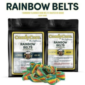 CANDY CARE 400MG INDICA RAINBOW BELTS