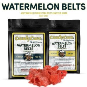 CANDY CARE 400MG INDICA WATERMELON BELTS
