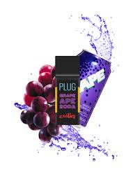 PLUG N PLAY EXOTICS GRAPE APE SODA 1 GRAM PREMIUM THC POD