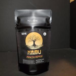 NAMU 500MG CANNABIS INFUSED PEACH RINGS