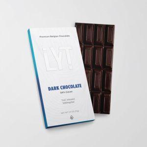 LYT PREMIUM BELGIAN 500MG CANNABIS INFUSED DARK CHOCOLATE BAR
