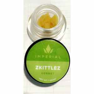 IMPERIAL EXTRACTS | ZKITTLEZ LIVE RESIN| 1 GRAM BUDDER SORBET