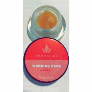 IMPERIAL EXTRACTS | WEDDING CAKE LIVE RESIN| 1 GRAM BUDDER SORBET