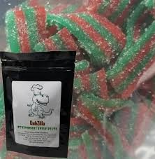 DABZILLA 500MG STRAWBERRY APPLE BELTS