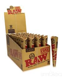 RAW 3-PACK KING SIZE PRE-ROLLED CONES