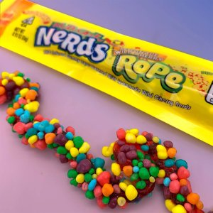 CANNA NERDS 800MG YELLOW SWEET AND SOUR ROPE
