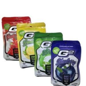 G2 STRAWBEERY 350MG CANNABIS INSUSED 100% VEGAN GUMMIES
