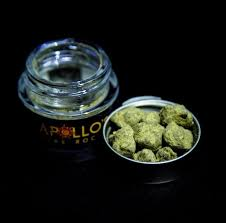 APOLLO'S FIRE ROCKS CANNABIS INFUSED 1 GRAM STRAWBERRY