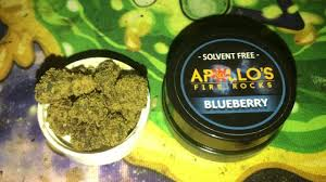 APOLLO'S FIRE ROCKS CANNABIS INFUSED 1 GRAM BLUEBERRY