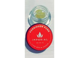 IMPERIAL EXTRACTS | FORBIDDEN FUNK LIVE RESIN| FULL GRAM DIAMOND SAUCE