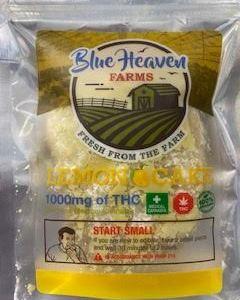 BLUE HEAVEN FARMS ORGANIC 1000MG CANNABIS INFUSED LEMON CAKE