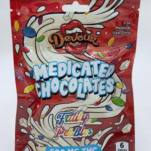 DEVOUR FRUITY PEBBLES 600MG CANNABIS INFUSED MEDICATED GUMMIES