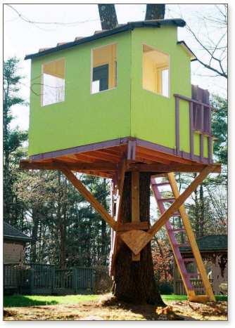 Simple Tree Houses Ideas