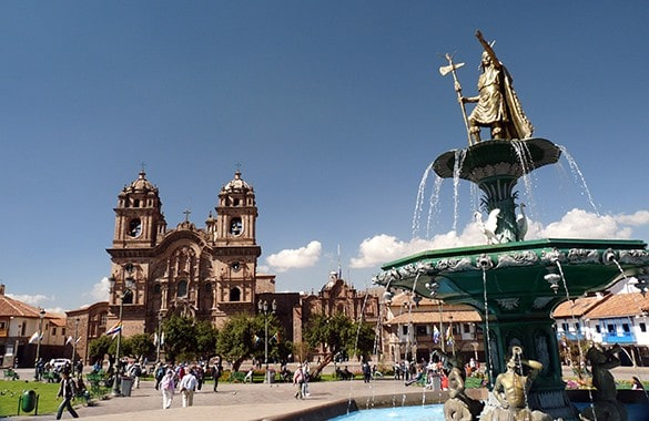 Plaza de Armas Cusco Peru