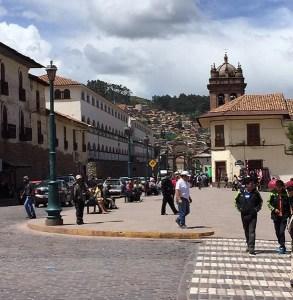 Streets of Cusco Peru