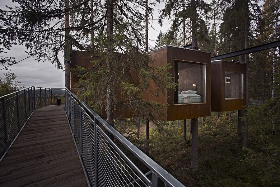 Treehotel Sweden The Dragonfly Exterior