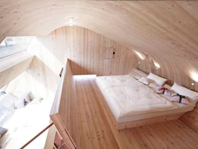 Ufogel Treehouse and Treehotel © Peter Jungmann-024