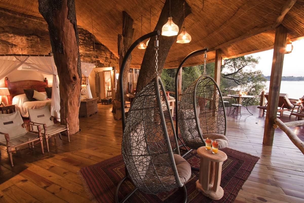 Tree House Hotel In Zambia Tongabezi Tree House