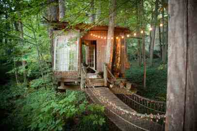 Treehouse in the US - airbnb treehouse in Atlanta-018